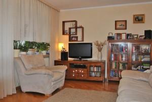 na zdjęciu urządzony salon w mieszkaniu