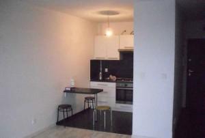 zdjęcie przedstawia aneks kuchenny w mieszkaniu na sprzedaż