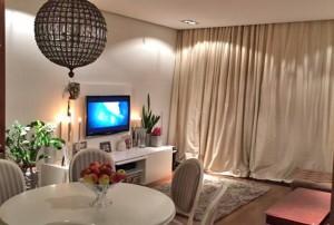 nowoczesny salon w mieszkaniu