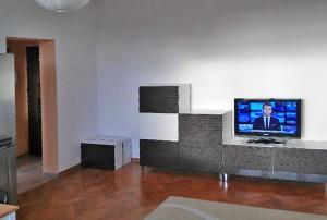 widok na duży pokój w mieszkaniu na sprzedaż w Warszawie, Żoliborz
