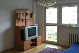 wnętrze salonu w mieszkaniu na sprzedaż, Warszawa, Bemowo