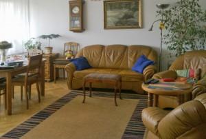 zdjęcie przedstawia salon w mieszkaniu w Warszawie do sprzedaży