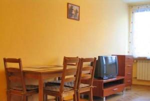 zdjęcie przedstawia salon w mieszkaniu na wynajem w Warszawie