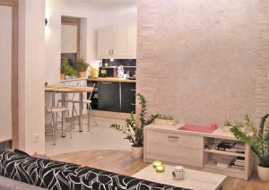 na zdjęciu nowoczesne mieszkanie do sprzedaży w Warszawie