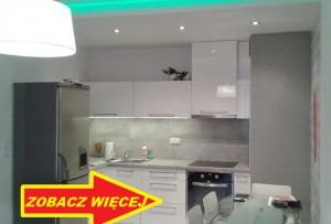 na zdjęciu mieszkanie do sprzedaży w Warszawie, widok na aneks kuchenny