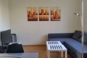 wnętrze mieszkania na sprzedaż w Warszawie, widok na salon