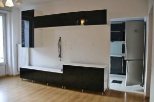 zdjęcie przedstawia salon w mieszkaniu na sprzedaż w Warszawie, dzielnica Żoliborz