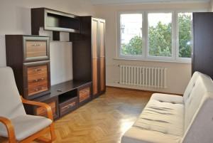 zdjęcie przedstawia salon w mieszkaniu do wynajmu w Warszawie - Śródmieście