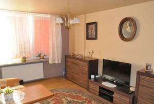zdjęcie przedstawia duży pokój w mieszkaniu na sprzedaż, w Śródmieściu Warszawy