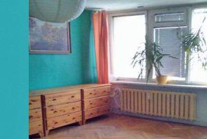 zdjęcie przedstawia fragment salon w mieszkaniu na sprzedaż w Warszawie na Ochocie