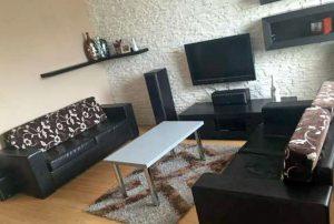 na zdjęciu salon w mieszkaniu na sprzedaż w Warszawie, na Bemowie