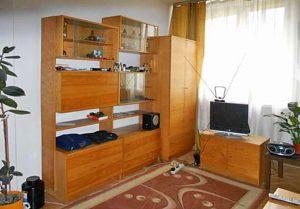 zdjęcie przedstawia salon w mieszkaniu do sprzedaży w Warszawie, w dzielnicy Wola