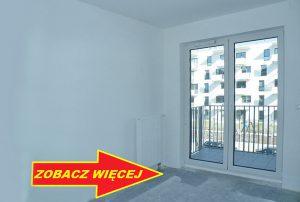na zdjęciu fragment salonu w mieszkaniu na sprzedaż w Warszawie