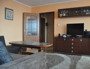 zdjęcie przedstawia luksusowy salon w mieszkaniu w Warszawie na sprzedaż