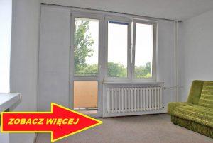 na zdjęciu widok na duży pokój / salon w mieszkaniu do sprzedaży w Warszawie