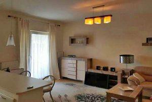 zdjęcie prezentuje salon w mieszkaniu w Warszawie na Mokotowie