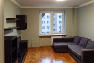 rzut na salon w mieszkaniu na sprzedaż w Warszawie