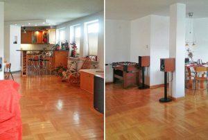 na zdjęciu wnętrze mieszkania w Warszawie do sprzedaży