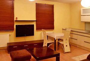 komfortowy salon w mieszkaniu do wynajmu Warszawa Ursynów