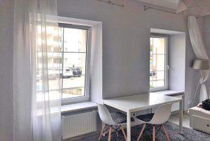 fragment salonu w mieszkaniu do wynajmu Warszawa