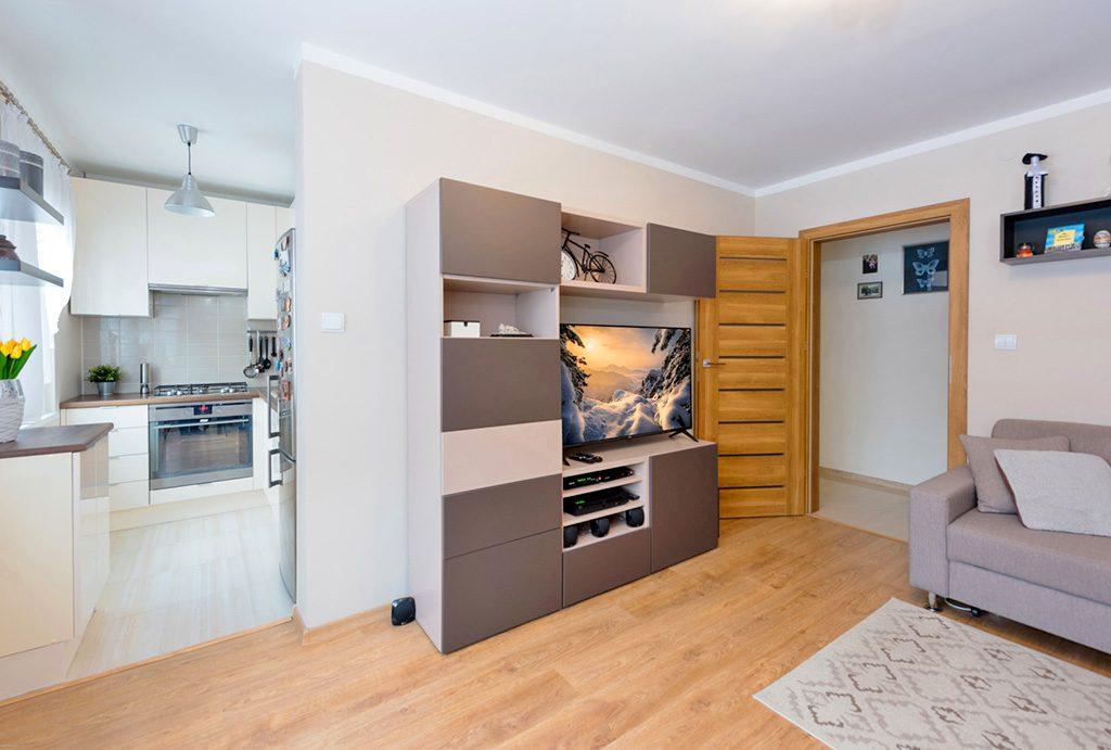 nowoczesne wnętrze mieszkania do sprzedaży Warszawa Wola